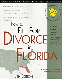 How to file for divorce in florida with forms self help law kit how to file for divorce in florida with forms self help law kit with forms edward a haman 9781570713873 amazon books solutioingenieria Images