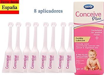 Conceive Plus 8 aplicadores - lubricante fertilidad buscar embarazo: Amazon.es: Salud y cuidado personal
