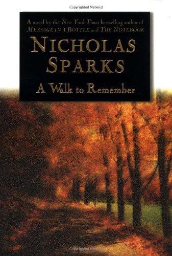 Nicholas Sparks Walk Remember 9 1 1999 product image