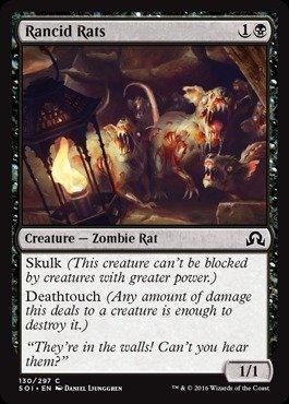Magic: the Gathering - Rancid Rats (130/297) - Shadows Over Innistrad ()