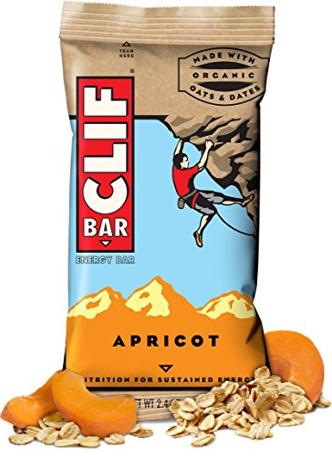 CLIF ENERGY BAR 48 Count, mMiucuc Apricot by Clif Bar