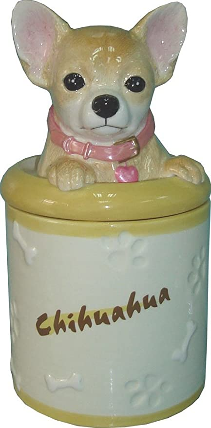 Chihuahua Cookie Jar Gorgeous Amazon StealStreet SSDCJ60 Chihuahua Collectible Dog Puppy