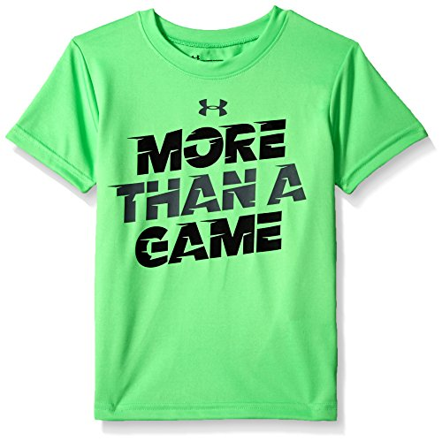 Under Armour Little Boys' More Than a Game Short Sleeve T-Shirt, Arena Green, 7 - Game Short Sleeve Tee