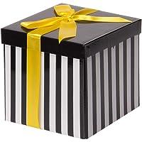 Beyaz Katlanabilir Hediye Kutusu 15,5x15,5 cm