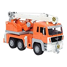 Driven by Battat WH1002Z Crane Truck with Light & Sound