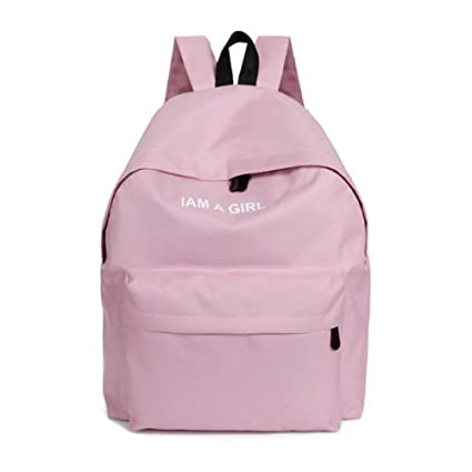 9732c6879c7 Women Girls Canvas Backpack Rucksack School Shoulder Bag, Fashion ...