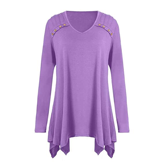 Fashion Women Autumn Long Sleeve Loose Blouse Backless Solid Gray Purple Red Casual Shirt Summer Tops Women's Clothing