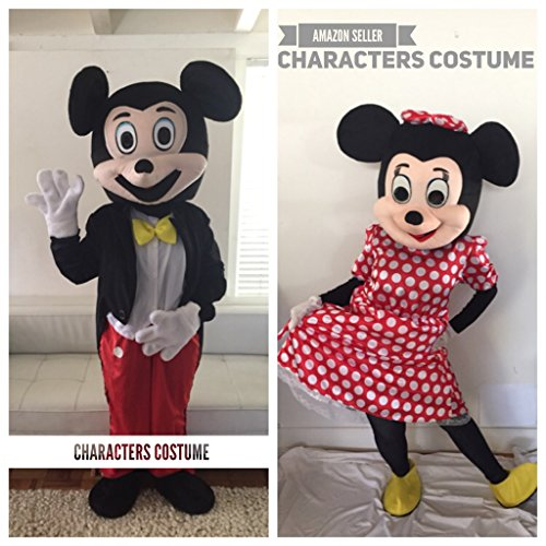 Mascot Costume Party Apparel Mascot Cartoon Character Adult Sz (Cartoons Characters)