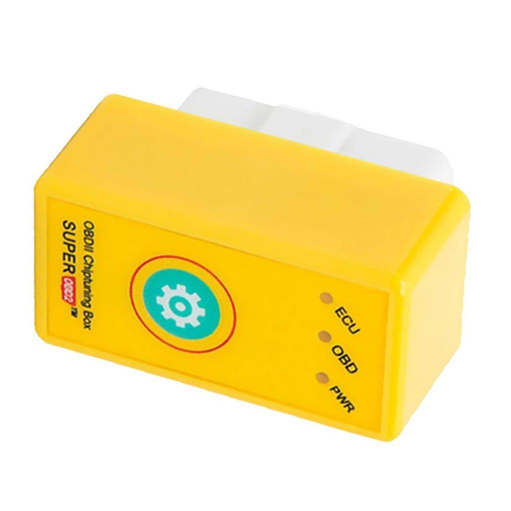 Lopbinte Super OBD2 Car Chip Box Ottimizzazione Plug /& Drive SuperOBD2 Piu Potenza//Piu Coppia Come Nitro OBD2 Chip Tuning NitroOBD2 Chip Tuning Adatto per Veicoli a Benzina
