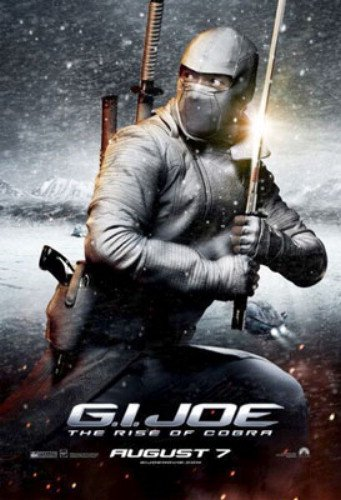 G.I. Joe The Rise Of Cobra 27X40 Single-Sided Storm Shadow Byung-Hun Lee Poster by Silverscreen