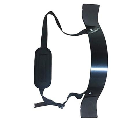 Bulary Fitness Cinturón Brazo Antebrazo Barra para Ejercicios Mancuerna Bíceps Entrenador Aleación de Aluminio Entrenamiento de