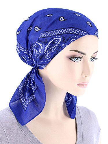 Royal Blue Head - 8