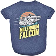 Star Wars Millennium Falcon Dog Tee | Star Wars Dog Shirt for Large Dogs | XX-Large