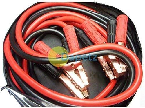 Dapetz Resistente 800amp 6 Metres Cavi di Avviamento Cavi per Accensione D em Ergenza Auto Furgone Lungo