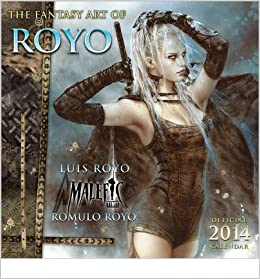 The Fantasy Art Of Royo Calendar Common Other Luis Royo