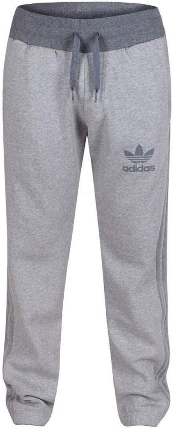 adidas SPO - Pantalones de chándal (Talla pequeña), Color Gris ...