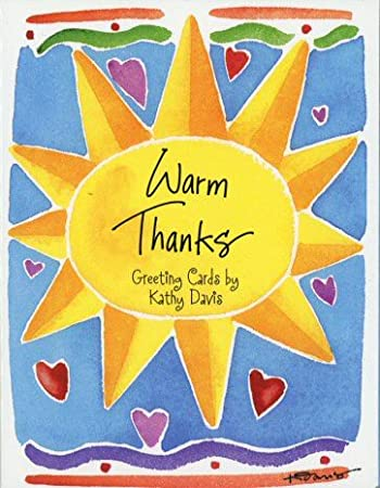 You Made My Day Kathy Davis Thank You Card Amazing Open Tulip