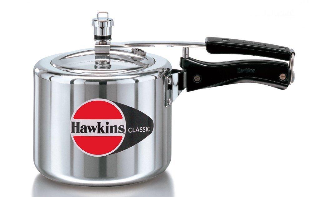 Hawkins CL-3T Classic Aluminum Pressure Cooker, 3 Litre, Silver