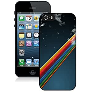 NEW DIY Unique Designed iPhone 5s Generation Phone Case For Rainbow In The Sky Phone Case Cover