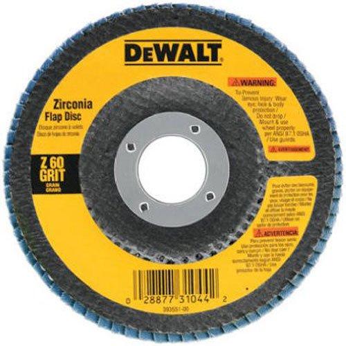 DEWALT DW8308 4-1/2-Inches x 7/8-Inches 60 Grit Zi…