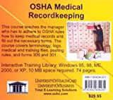 OSHA Medical Recordkeeping, Farb, Daniel and Gordon, Bruce, 1932634231