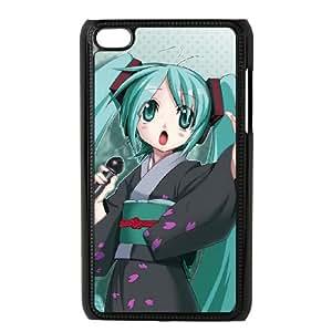 iPod Touch 4 Case Black Hatsune Miku1 P6C3KL