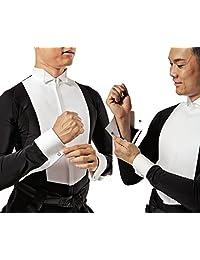 TAKA DANCE Ballroom Shirt MS280 with Collar Attached