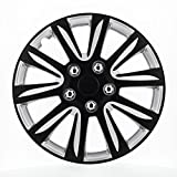 """Pilot Automotive WH546-16B-BS Black 16"""" Premier Wheel Cover, (Set of 4)"""