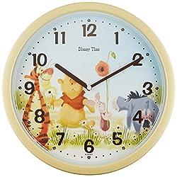 Disney Winnie the Pooh wall clock time FW570Y