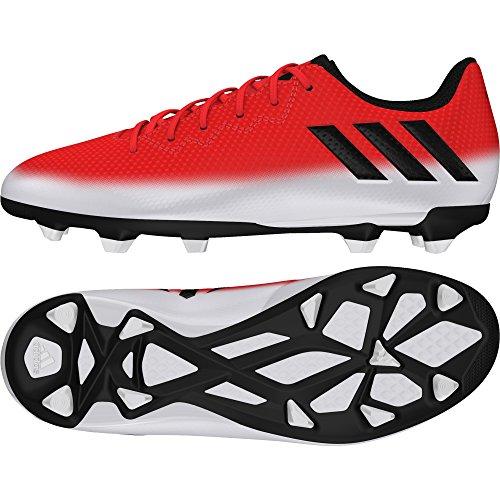 adidas Messi 16.3 Fg J, Botas De Fútbol para Niños rouge/noir/blanc