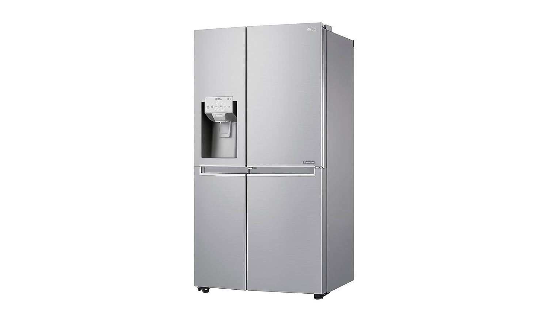 Kühlschrank Xxl Edelstahl : Lg gsj neaz stand alone l a edelstahl kühlschrank seite