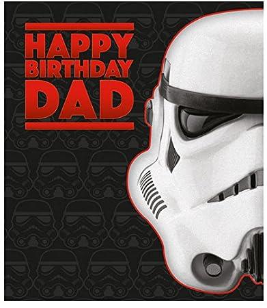 Star Wars Stormtrooper Geburtstagskarte für Papa