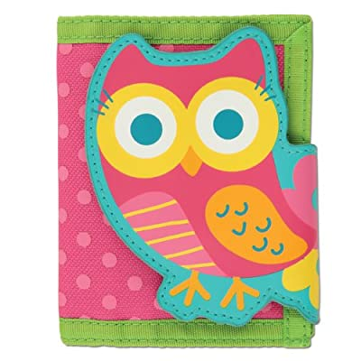 Stephen Joseph Wallet Teal Owl
