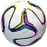 American Challenge Rio Soccer Ball (White-Gold-Raspberry-Aqua, Size 4)