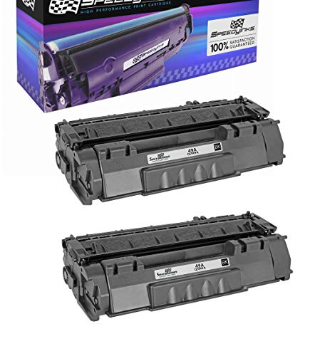 (Speedy Inks Compatible Toner Cartridge Replacement for HP 49A Q5949A (Black, 2-Pack))