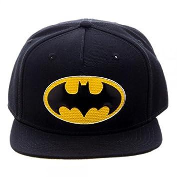 DC Comics Batman Chrome Weld Logo Snapback Gorra De Béisbol: Amazon.es: Juguetes y juegos