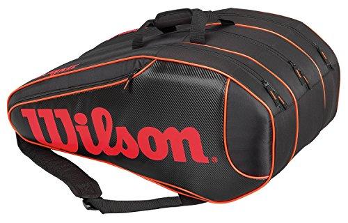 Wilson Burn Team 12-Pack Black Tennis Bag