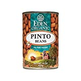Eden Foods Fat Free Organic Pinto Beans -- 15 oz