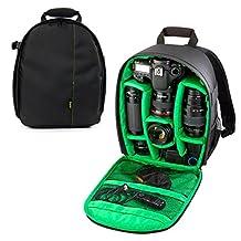 YaeTek Camera Backpack Shoulder Bag DSLR Case For Canon For Nikon For Sony Waterproof