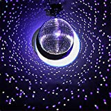 Efavormart 24'' Groovy Glass Mirror Disco Ball Party Decoration for Wedding Event Birthday Party