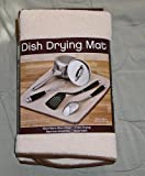 The Original Dish Mat Drying Kitchen Mat Microfiber Absorbent Fast Dry Washable