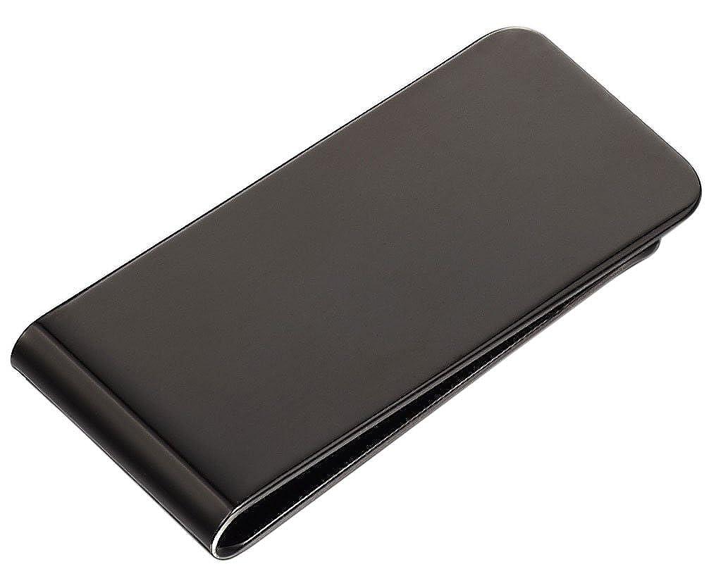 Visol Personalized Stainless Steel Money Clip with Custom Engraving EN-VMC900RG