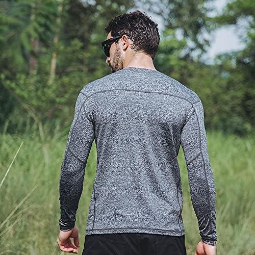 EXCELLENT ELITE SPANKER Men/'s Long Sleeve Quick Dry UV Sun Protection