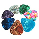 20pcs Thin Guitar Picks ukulele guitar shrapnel 0.46 thickness