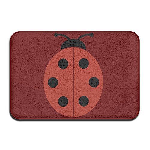 [Ladybug Ladybirds Home Furnishing Non-Slip Bathroom Rugs 23.6 X 15.7 Inches] (Pet Ladybug Costume)