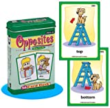 Opposites Fun Deck Cards - Super Duper Educational Learning Toy for Kids