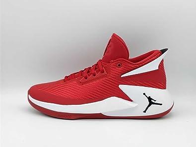 Jordan Zapatillas de Baloncesto de Tela Para Hombre Rosso e Bianco Size: EU 45.5 - cm 29.5 - UK 10.5: Amazon.es: Zapatos y complementos