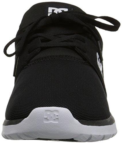 DC Skate Shoe White Heathrow Casual Black Men's rqZrUa