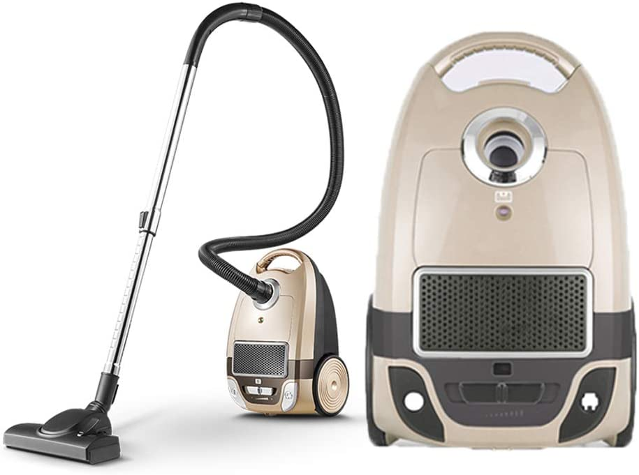 Aspiradora doméstica / Aspiradora de ciclón, Regulación de velocidad de succión / sin escalonamiento grande 1300W, Diseño de cepillo antiestático, con puntas llenas de polvo, Cable automático: Amazon.es: Hogar