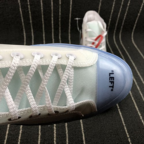 Sneaker All Most Star Translucent Sole Upper White Vulcanized Canvas Hottest Chuck Luxury w04dq0